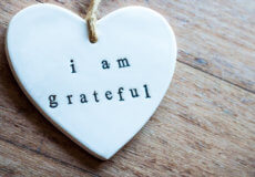 Image of a heart with I am Grateful Written Inside
